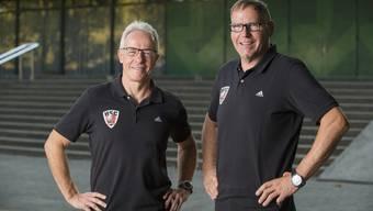 René Zehnder und Thomas Kähr stehen neu an der Spitze des HSC Suhr Aarau.