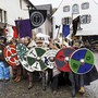 Der Wikingerclan Torgus Caturix am Mittelaltermarkt in Bremgarten.