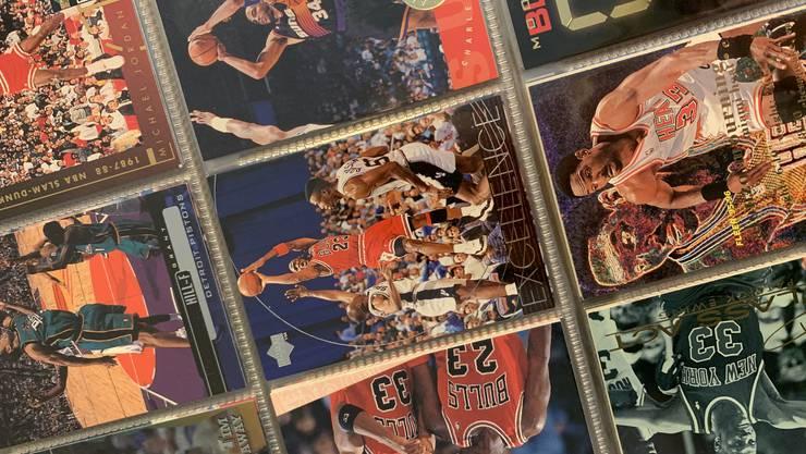Auch Michael Jordan ist in meiner Sammlung vertreten.