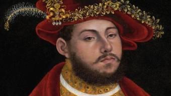 """Das """"Porträt von Johann Friedrich I. von Sachsen"""" von Lukas Cranach d.Ä wurde von den Nazis geraubt und ist in den USA wieder aufgetaucht. Jetzt kommt es zugunsten der Erben des einst enteigneten Besitzers unter den Hammer. Man rechnet mit 2 Millionen Dollar Erlös. (Archivbild/Ausschnitt)"""