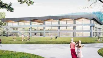 Visualisierung Schulhaus Neuhegi.