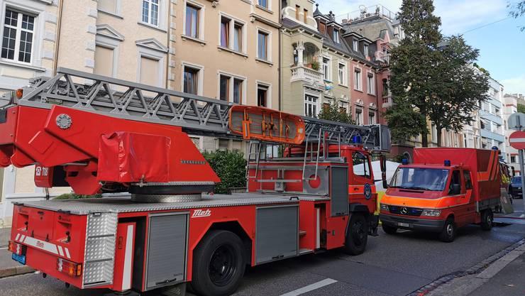 Der Brand brach an der Dornacherstrasse aus.