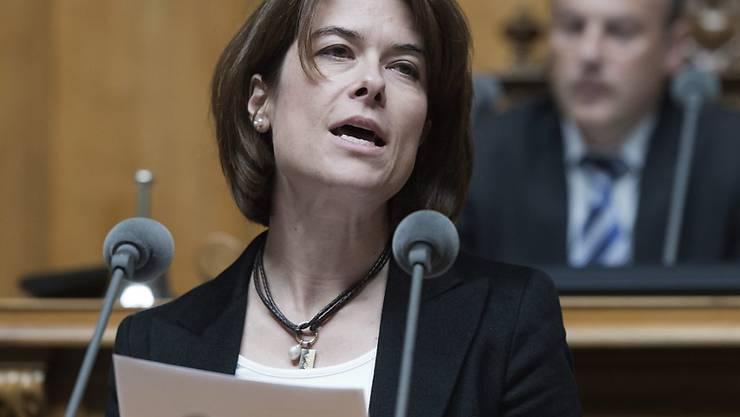 Die Schwyzer Nationalrätin Petra Gössi ist zurzeit die einzige Kandidatin für das FDP-Parteipräsidium. (Archivbild)