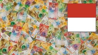 Geld und das Solothurner Wappen