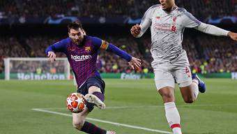 Duell auf höchster Ebene: Lionel Messi gegen Virgil van Dijk