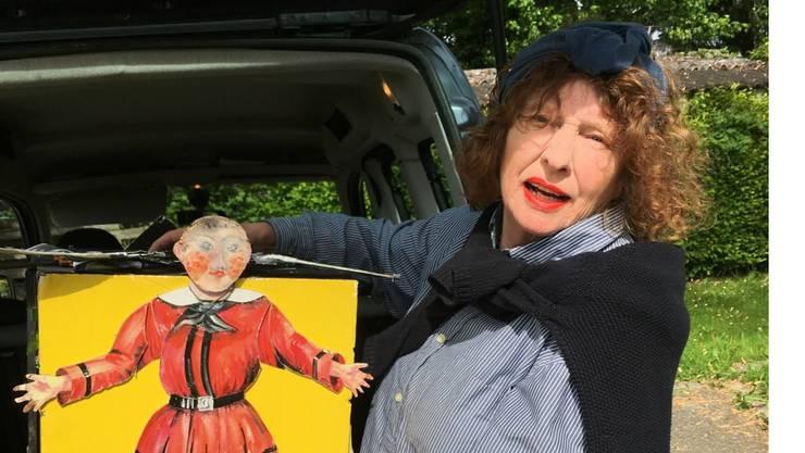 Veronika Medici erhält den Kulturpreis Bucheggberg 2017.