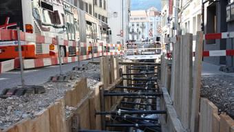 Der Bau des Solothurner Fernwärmenetzes soll sich lohnen, sagt die Regierung. Um die Investitionen amortisieren zu können, darf die städtische Politik ihren Bürgern einen Anschlusszwang auferlegen. (Archivbild)