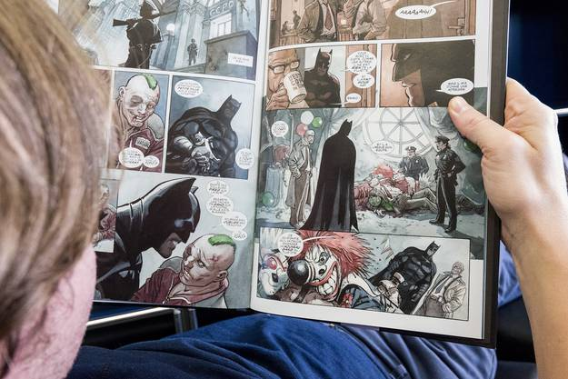 Dank Enrico Marinis Batman-Comic «Der dunkle Prinz» (© Dargaud, Panini, DC Comics).