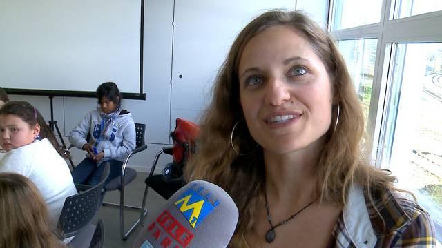 «Es war schön zu sehen, wie sehr sich die Kinder freuen»: Primarlehrerin Nina Studer hatte spontan die Idee, an dem Wettbewerb teilzunehmen.