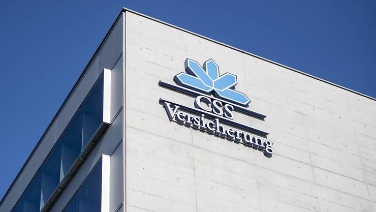 Die CSS Versicherung hat im letzten Jahr ihre Spitzenposition in der Grundversicherung verteidigt. (Archiv)