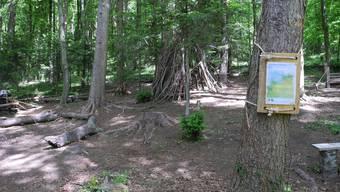 Der Waldspielplatz in Lohn