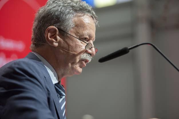 «Der Wakkerpreis soll positive Entwicklungen fördern und auszeichnen», sagt Martin Killias in seiner Laudatio.