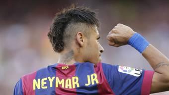 Brachte Barça entscheidend in Führung: Neymar