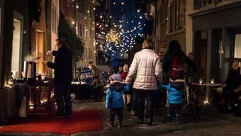 Der «Adventszauber» in der unteren Altstadt zieht seit Jahren die Massen an.