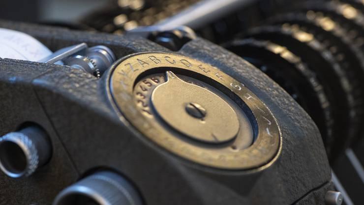 Chiffriergerät der Crypto AG: Im Zusammenhang mit der Spionageaffäre hatte der Bund Ausfuhren zwischenzeitlich gestoppt. (Symbolbild)