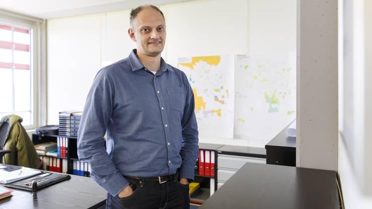 Stadtbaumeister Aquil Briggen