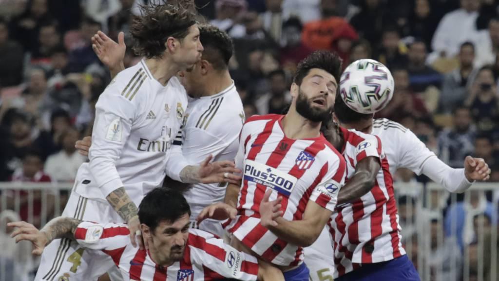Real Madrid schlägt Stadtrivale Atlético im Penaltyschiessen