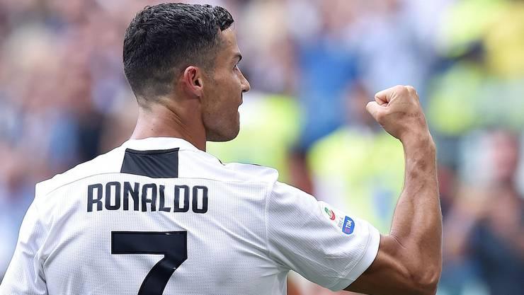 Gegen YB gesperrt: Der neue Juve-Superstar Cristiano Ronaldo.