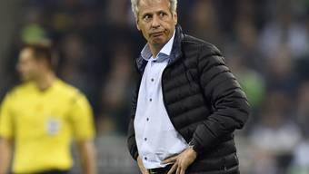 Auch in der Champions League läuft es für Borussia Mönchengladbach und Trainer Lucien Favre nicht rund