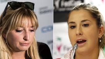 Timea Bacsinszky und Belinda Bencic brauchen weiter Geduld.