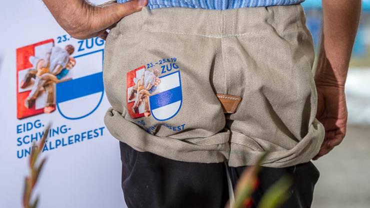 Die Organisatoren des Eidg. Schwing- und Älplerfests 2019 in Zug wollen das Volks- und Sportfest erstmals klimaneutral austragen. (Archivbild)