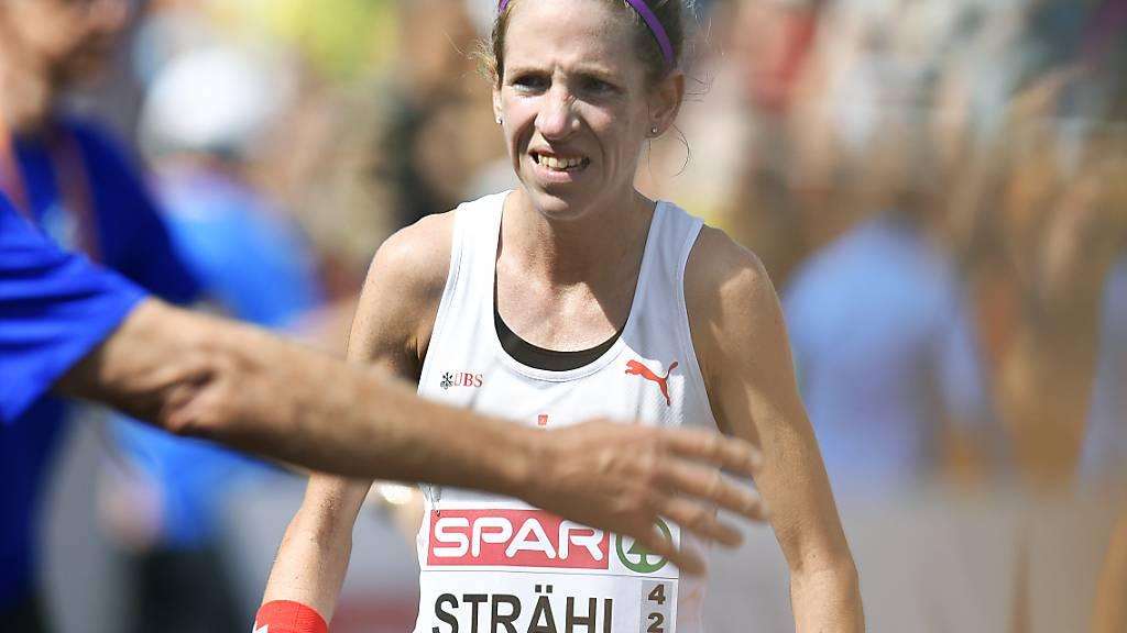 Strähl überzeugt am Berlin-Marathon als Zehnte