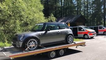 Das Auto des Rasers wurde sichergestellt.