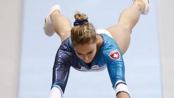Giulia Steingruber gewinnt am Sprung Olympia-Bronze