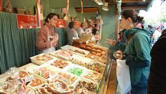 Keine Herbstmesse, kein Magenbrot: Auch Oskar Herzig konnte mit seinen Jonasch-Produkten nur an wenigen Märkten teilnehmen.