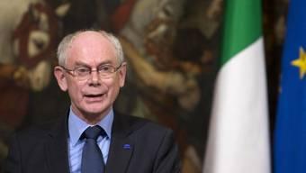 Preisträger des Karlspreise 2014, Herman Van Rompuy