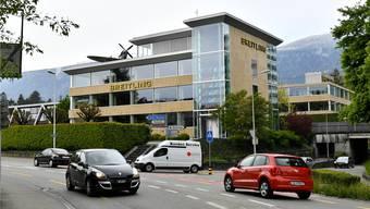 Am Hauptsitz von Breitling an der Schlachthausstrasse ist mit dem Verkauf einiges anders geworden.