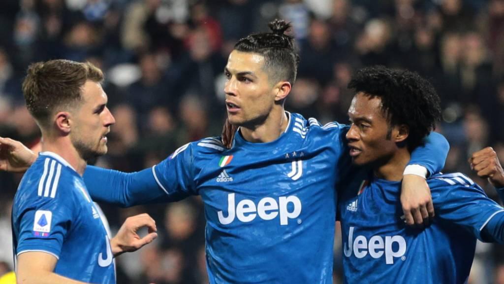 Cristiano Ronaldo führt Juve zum Sieg gegen Tabellenletzten