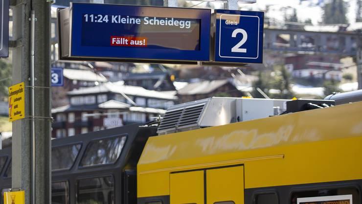 Noch ist offen, wann die Jungfraubahnen wieder fahren können.