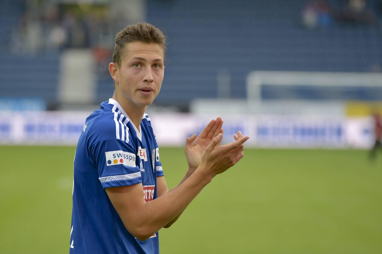 Der 18-jährige FCL-Spieler Remo Arnold