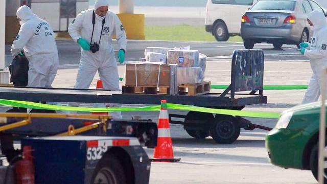 Ermittlungen nach Raub auf dem Flughafen von Chiles Hauptstadt