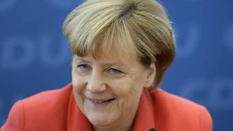 Wäre sie nicht Politikerin geworden - wer weiss, vielleicht wäre Angela Merkel jetzt eine Restaurantbetreiberin. (Archivbild)