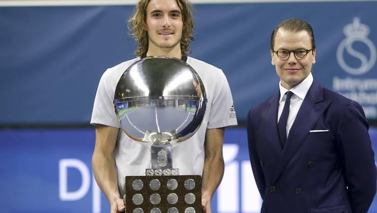 Stefanos Tsitsipas tritt als Turniersieger und mit neuem Selbstvertrauen in Basel an