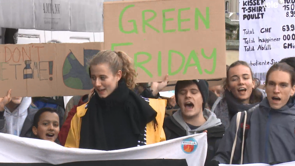 Green-Friday statt Black-Friday