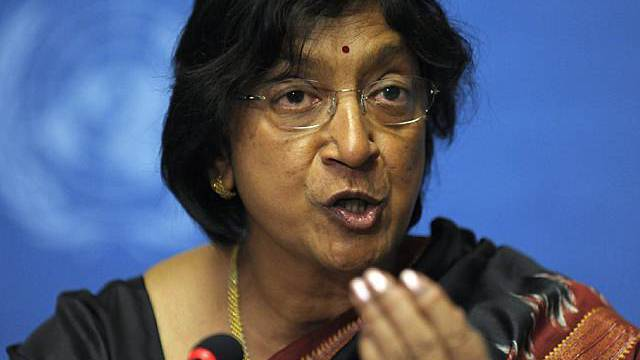 UNO-Hochkommissarin Navi Pillay (Archiv)