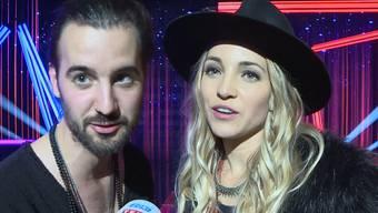 Zibbz vertreten die Schweiz im Mai am «Eurovision Song Contest» in Lissabon. Das Duo hat am Sonntagabend mit ihrem Song «Stones» die SRF-Entscheidungsshow gewonnen.