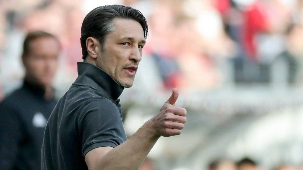 Daumen hoch: Niko Kovac wird wohl neuer Trainer von Bayern München.