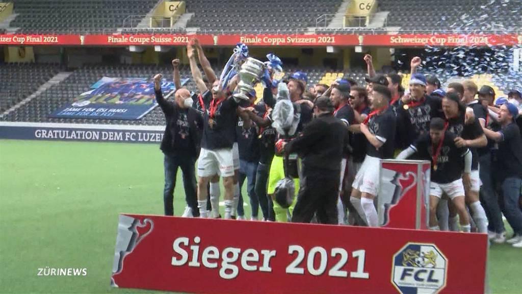 Klare Sache im Cupfinal: FC Luzern beendet 29-jährige Titelflaute
