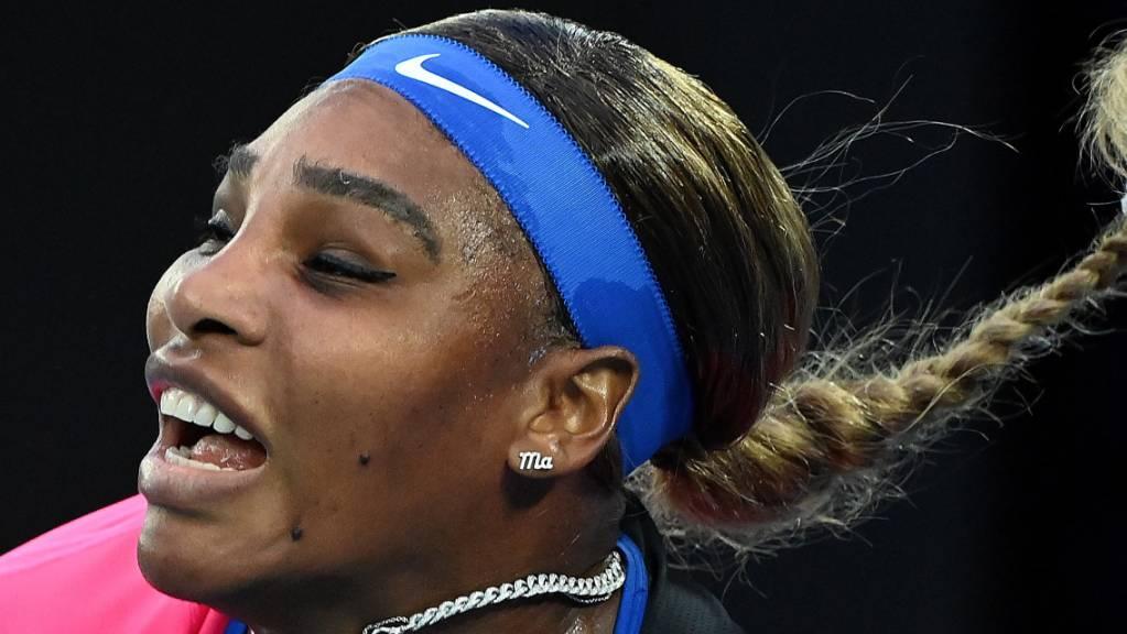 Hervorragend unterwegs: Serena Williams strebt in Melbourne ihren 24. Grand-Slam-Titel an