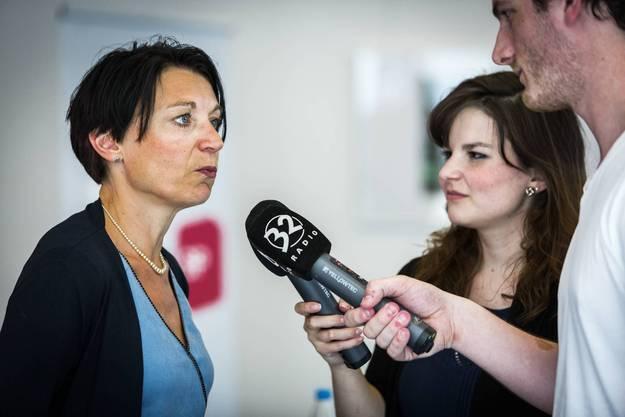 Die Nationalrätin will den Sitz der Grünen Susanne Hochuli erben, die nicht wieder antritt.