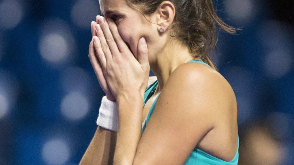 Feierte zum Saisonabschluss in China den zweiten Turniersieg in Folge: die Deutsche Julia Görges