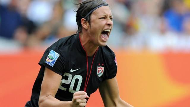 Abby Wambach rettete ihr Team ins Penaltyschiessen