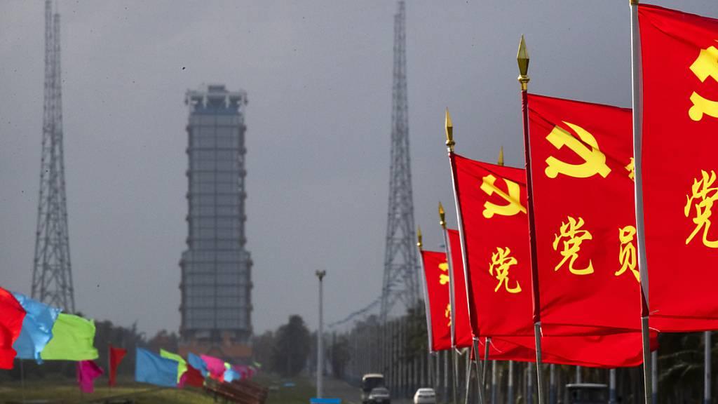 China startet unbemannte Mondlandung