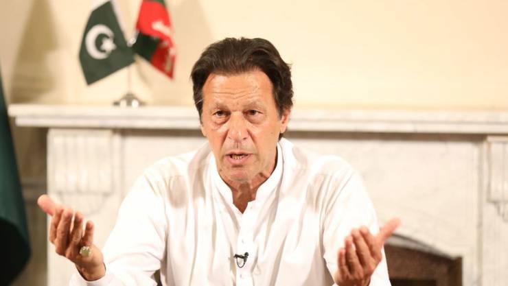 """Pakistans Premierminister Imran Khan hat sich für """"eine neue Beziehung"""" mit Indien ausgesprochen, basierend auf Frieden und Wohlstand aller Einwohner. (Archivbild)"""