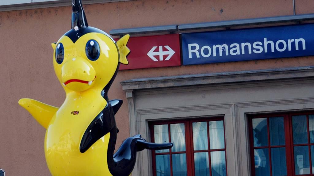 Der Bahnhofplatz in Romanshorn soll zu einer attraktiven Verkehrsdrehscheibe werden