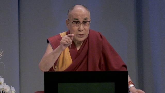 Der Dalai Lama erklärt den Weg zur Glückseligkeit